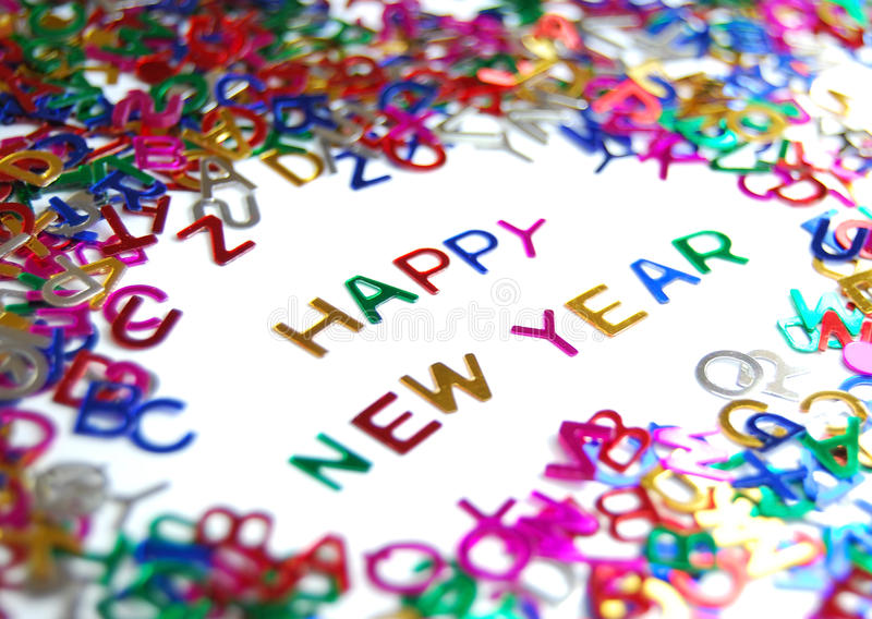 Download Happy New Year stock photo. Image of season, colour, happy - 10829020