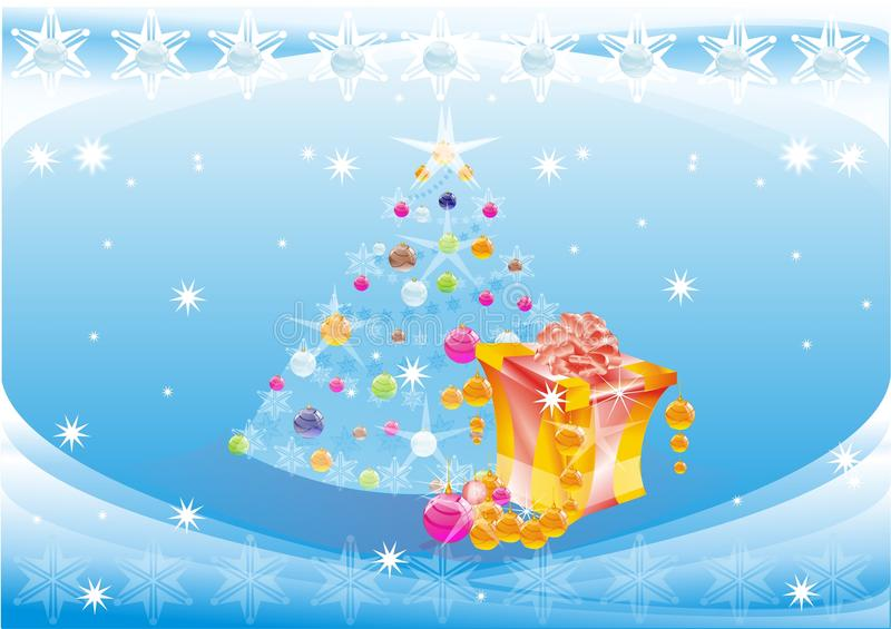 Download HAPPY NEW YEAR stock illustration. Image of shiny, claus - 11155502