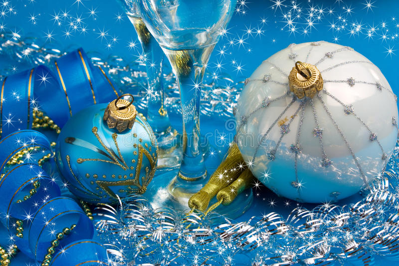 Happy New Year. And Merry Christmas royalty free stock photo