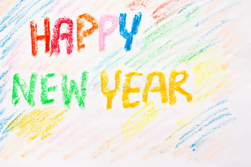 Happy new year. Tradition or festival stock images