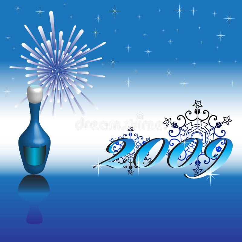 Download Happy New Year 2009 stock vector. Image of elegance, artwork - 6884908