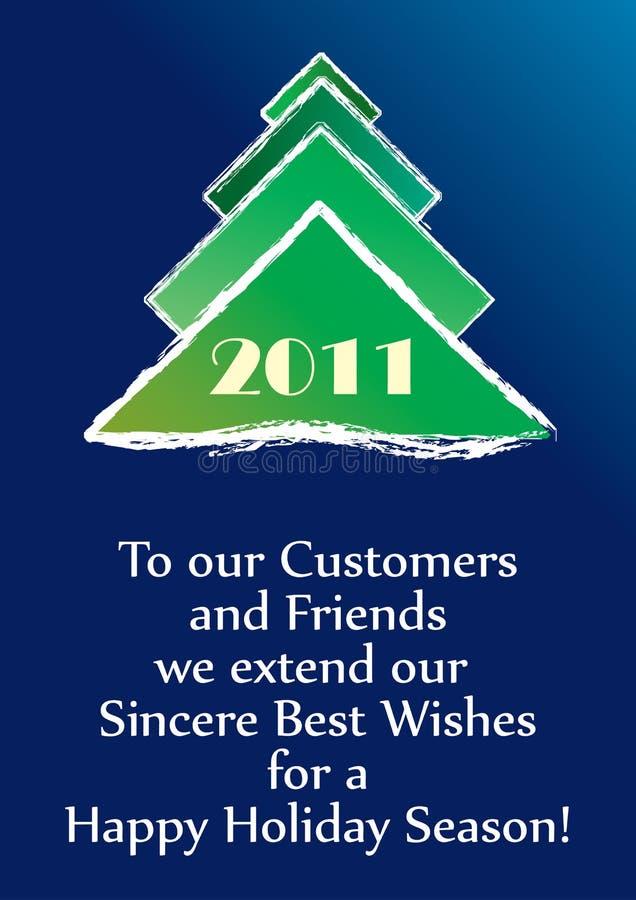 Happy new year 2011! stock photo