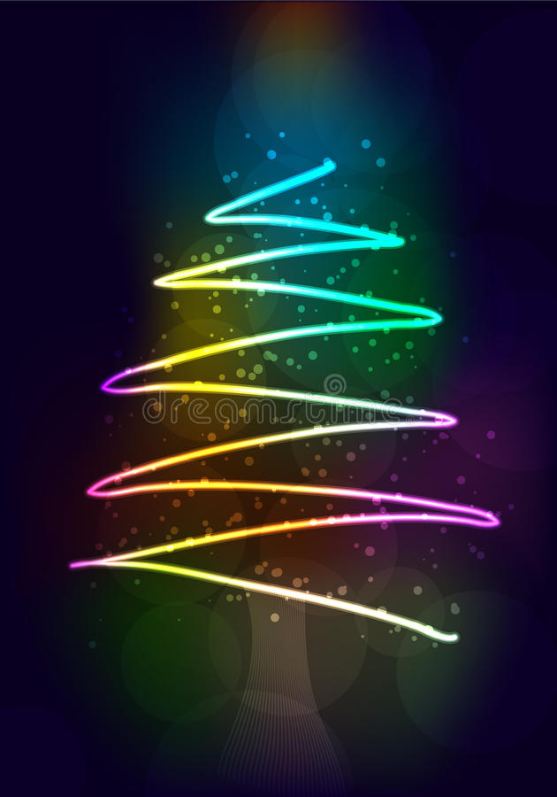 Happy New Year 2012 - illustration royalty free illustration