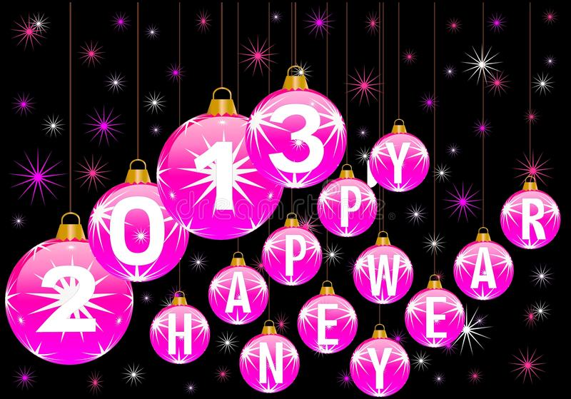 Download Happy New Year 2013 Royalty Free Stock Photos - Image: 25993288