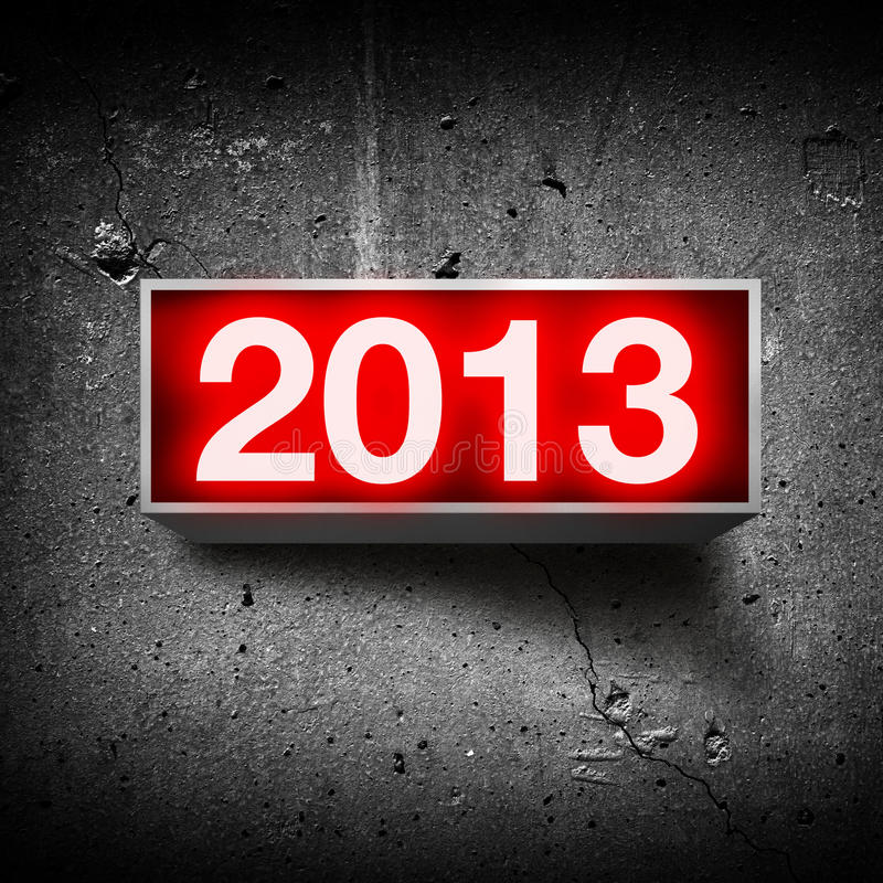 Download Happy new year 2013. stock photo. Image of light, year - 27665334
