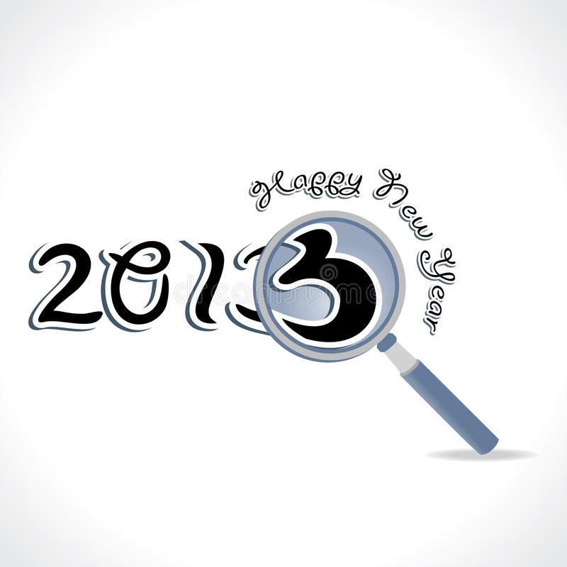 Download Happy new year 2013 stock image. Image of calendar, connection - 28103897