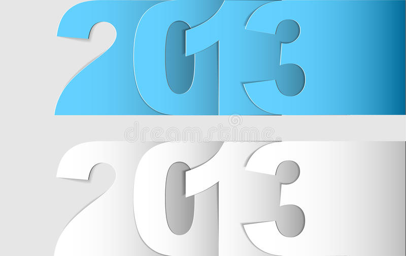 Download Happy New Year 2013 Vector Card Stock Vector - Image: 26045230