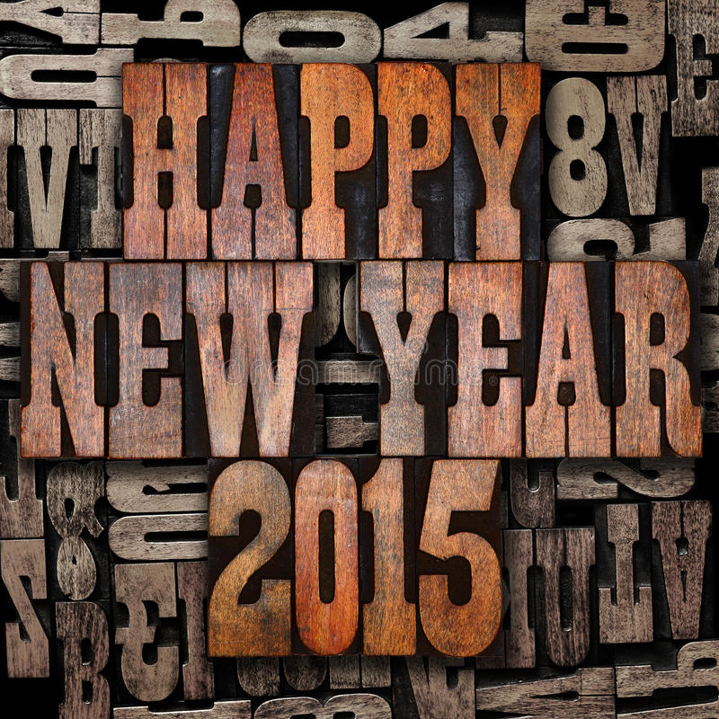 Free Happy New Year 2015 Stock Images - 36700714