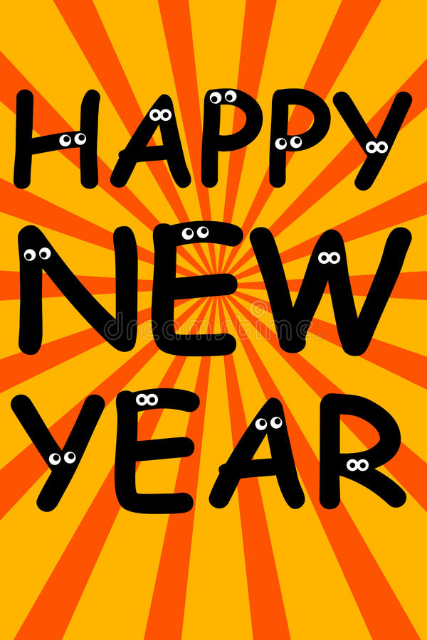 Download Happy new year stock illustration. Image of party, black - 23071791