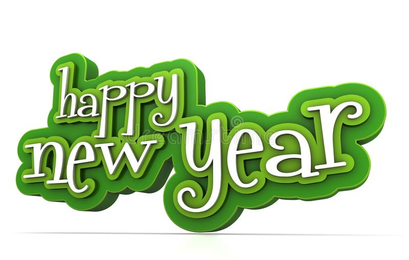 Download Happy new year stock illustration. Illustration of background - 26626707
