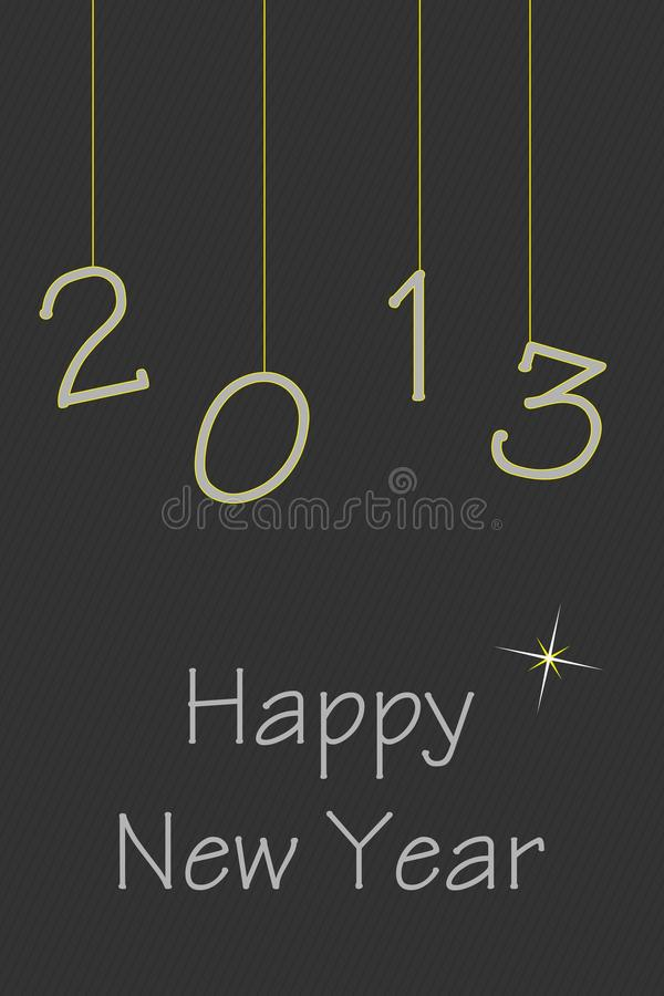 Download Happy New Year stock illustration. Illustration of greeting - 27834047