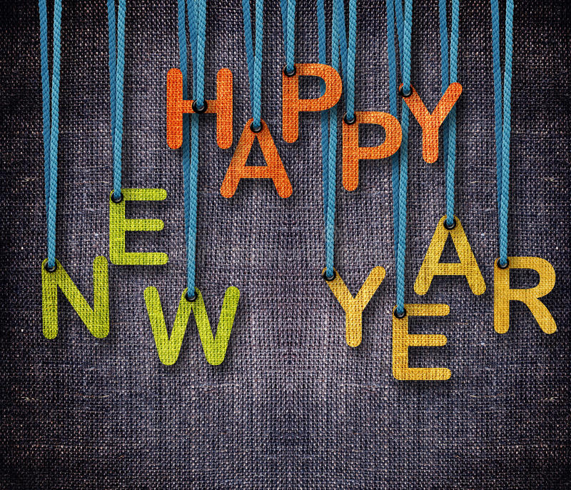 Happy New Year royalty free stock photos