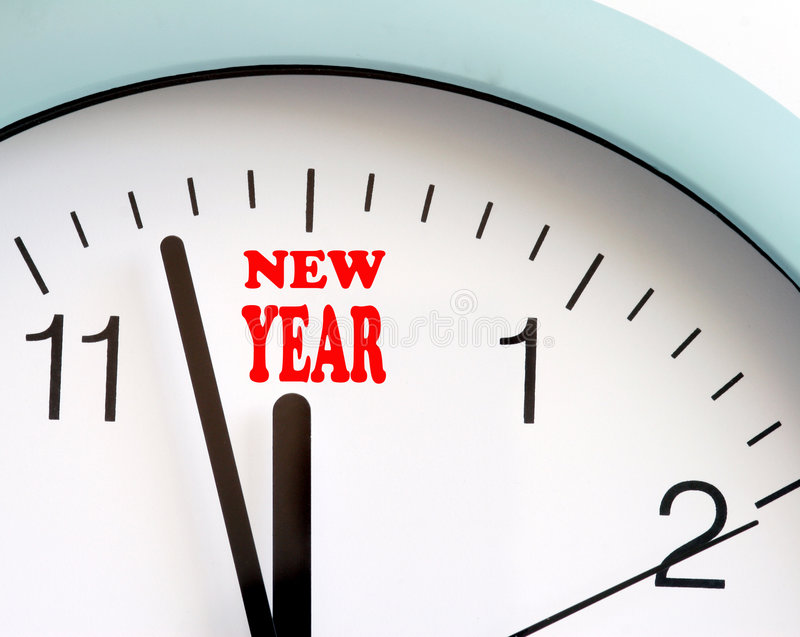 Happy New Year. Is coming on stock photo