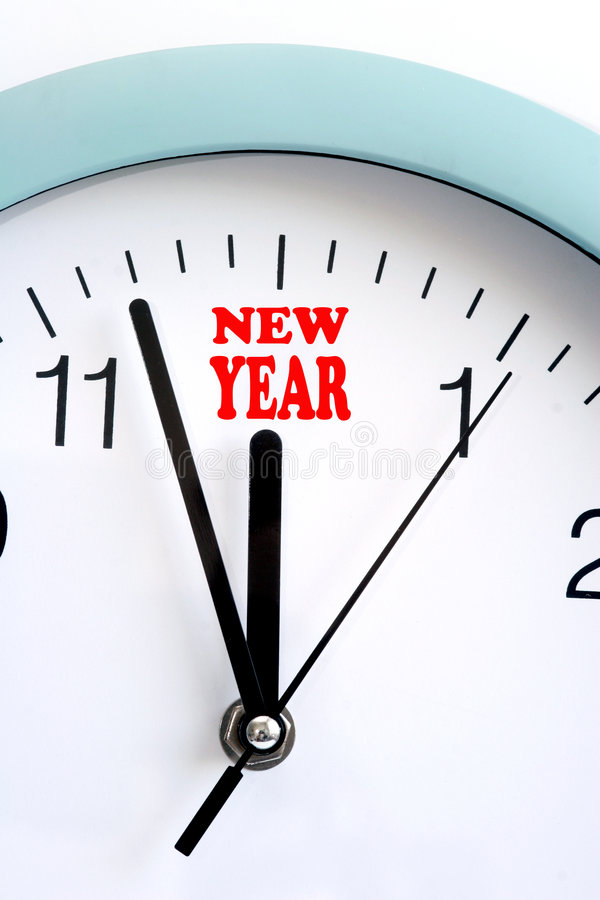Happy New Year. Is coming on royalty free stock photography