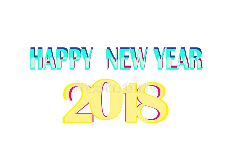 Happy new year 2019. Abstract colorful greeting card design and gift, Banner presentation card,creative greeting card template design will help you express vector illustration