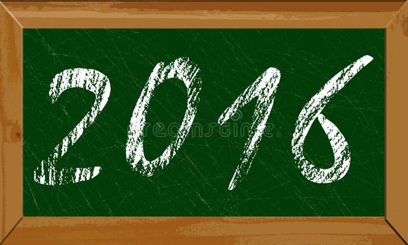 Happy new year 2016 stock photo