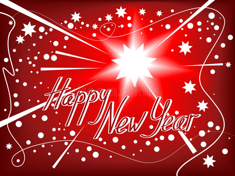 Download Happy New Year background stock vector. Image of sign - 15419301