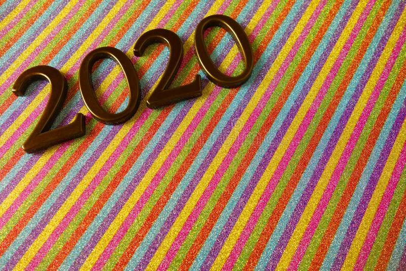 Happy new year 2020. Background royalty free stock photos