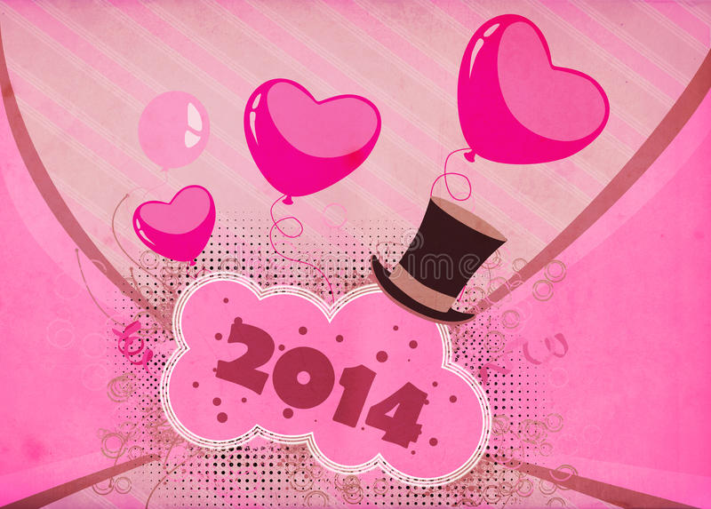 Happy New Year Background Stock Images