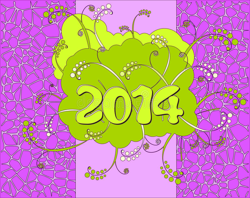Download Happy New Year card stock vector. Illustration of happy - 30248044