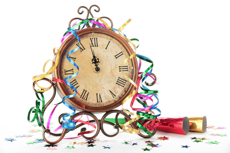 Happy new year celebration royalty free stock photos