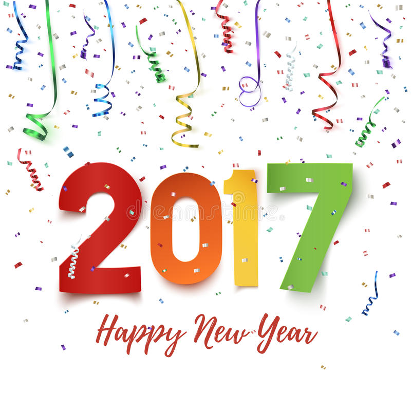 Download Happy New Year 2017 Celebration Background. Stock Vector - Image: 70647918