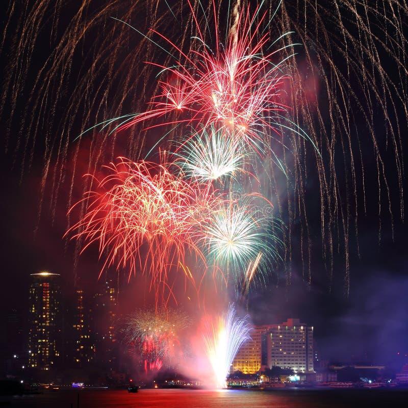Happy New Year celebration royalty free stock photography
