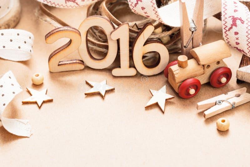 Happy 2016 New Year stock image