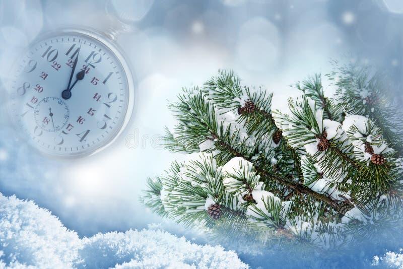 Happy new year. Christmas still life - happy new year royalty free stock image