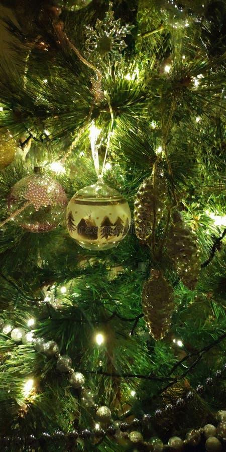 Happy New year! Russian  Christmas tree. Happy new year christmas  tree royalty free stock photo