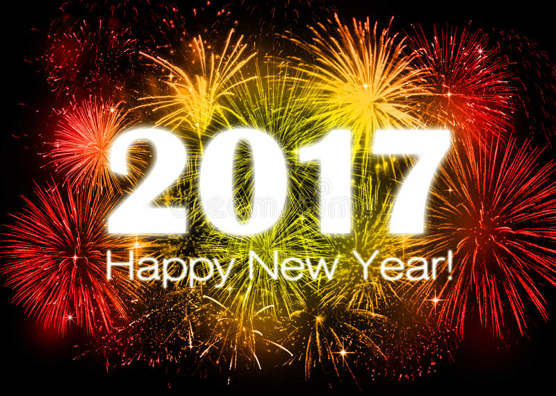 Download 2017 Happy New Year stock image. Image of card, abstract - 75263603