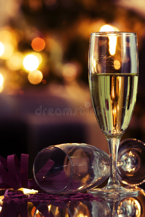 An Happy New Year is coming. (selective and soft focus royalty free stock image