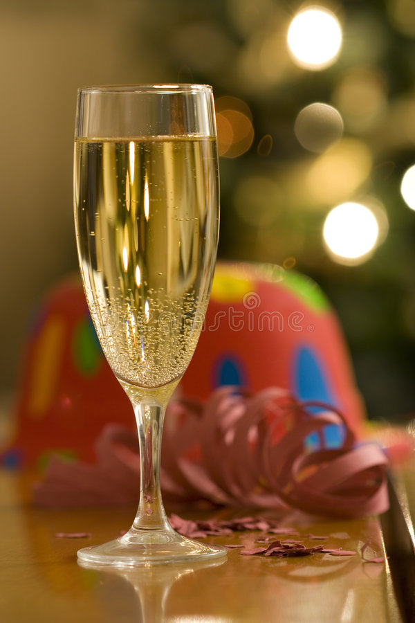 An Happy New Year is coming. (selective and soft focus stock image