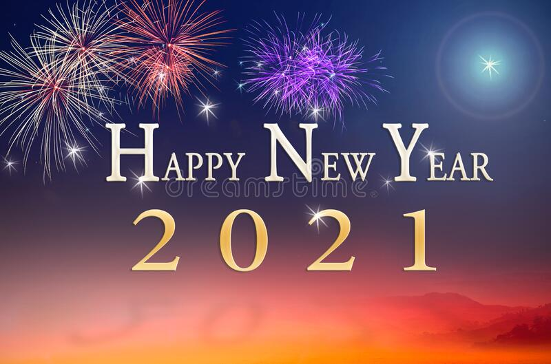 عام جديد كل عام وانتم بخير Happy-new-year-concept-text-over-fireworks-night-background-197943516