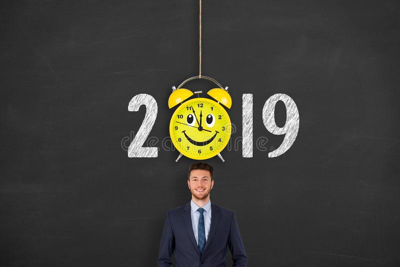 Happy new year concepts 2019 countdown clock. New year concepts stock photos