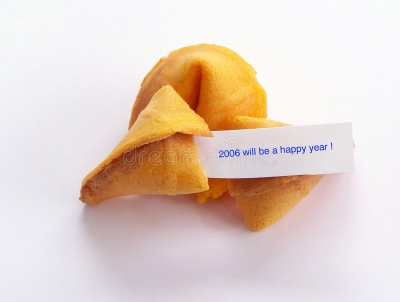 Download Happy New Year Cookie. Royalty Free Stock Photo - Image: 380375