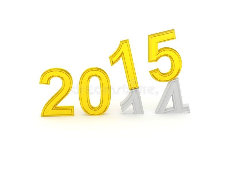 Happy New Year 2015 vector illustration