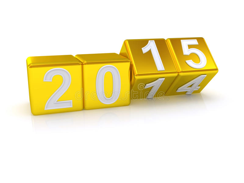 Download Happy New Year 2015. stock illustration. Image of countdown - 40478812