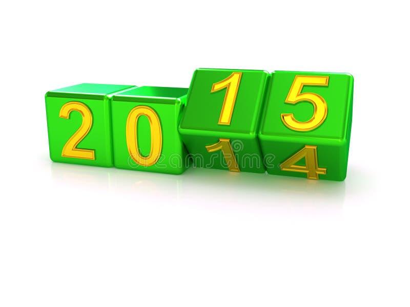 Happy New Year 2015. vector illustration