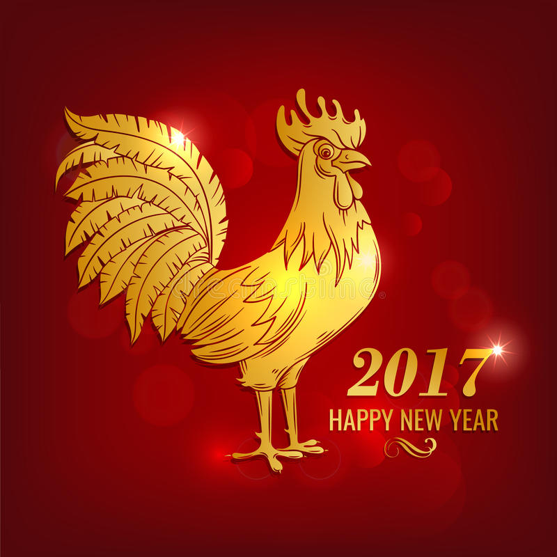 Happy New Year design royalty free illustration