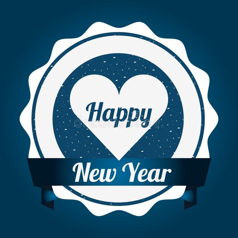 Happy new year design. Vector illustration eps10 graphic vector illustration