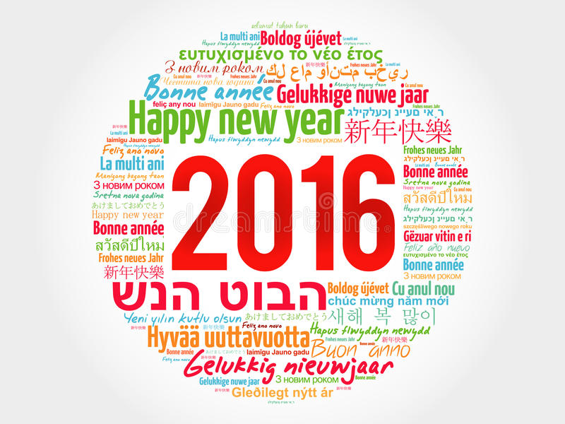2016 happy new year in different languages stock image image of download 2016 happy new year in different languages stock image image of design holiday m4hsunfo