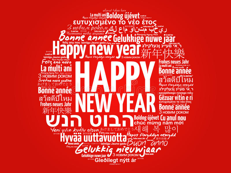 Happy new year in different languages stock photo image of french download happy new year in different languages stock photo image of french holiday m4hsunfo