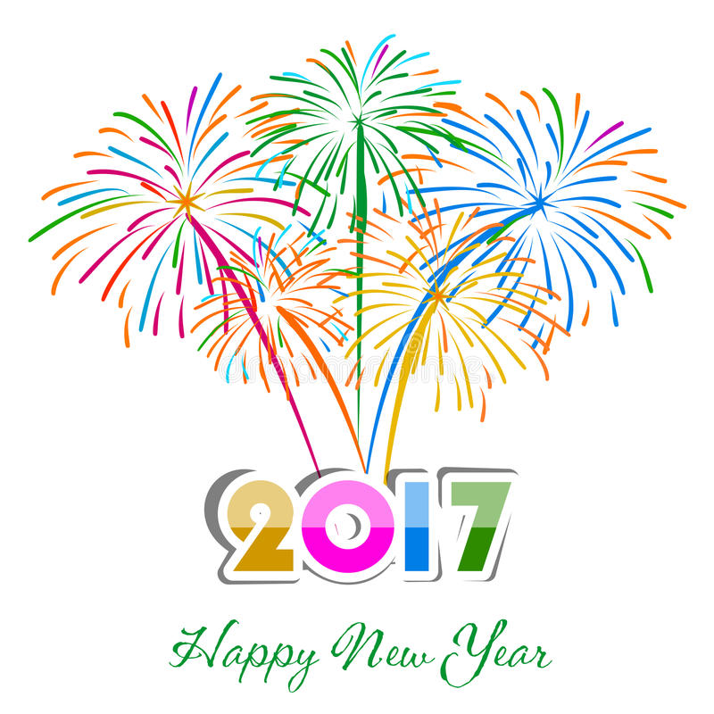 Happy new year fireworks 2017 holiday background design stock photo download happy new year fireworks 2017 holiday background design stock photo image of occasion voltagebd Gallery
