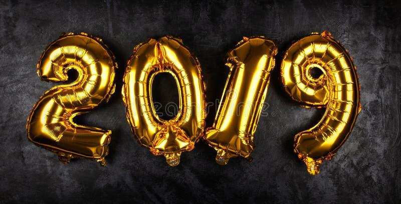Happy New Year 2019 stock photo