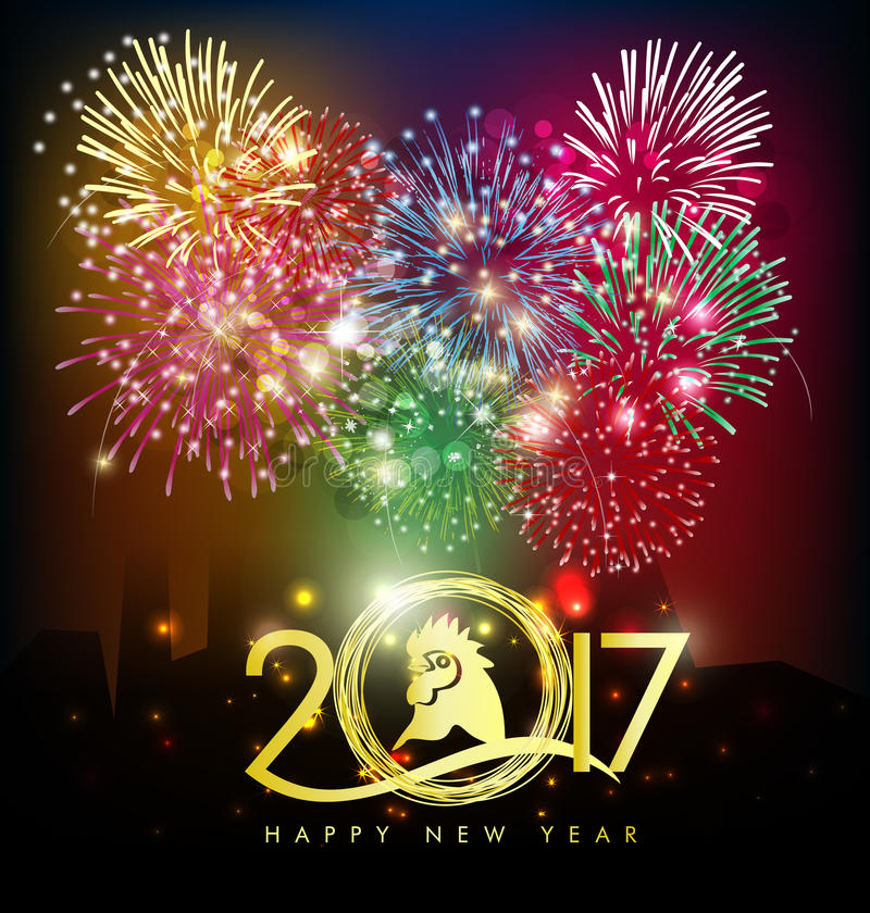 Happy new year greeting card 2017 stock photo image of decoration download happy new year greeting card 2017 stock photo image of decoration bird m4hsunfo Gallery