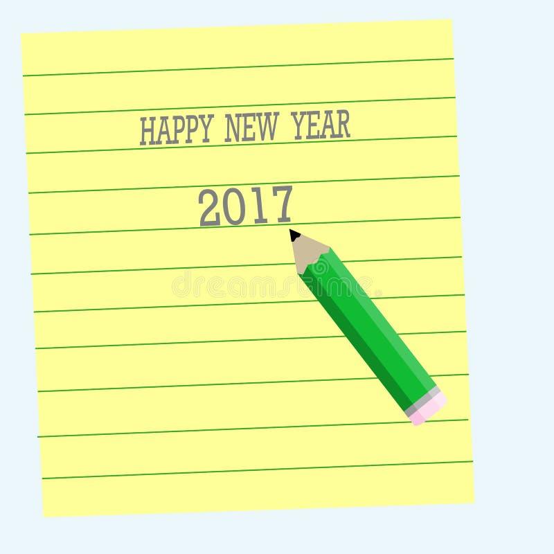 Happy New Year 2017 royalty free stock photo