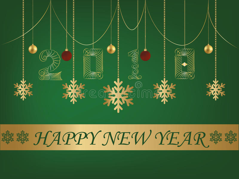 Happy new year greeting card 2018 green backgroun stock vector download happy new year greeting card 2018 green backgroun stock vector illustration of available m4hsunfo