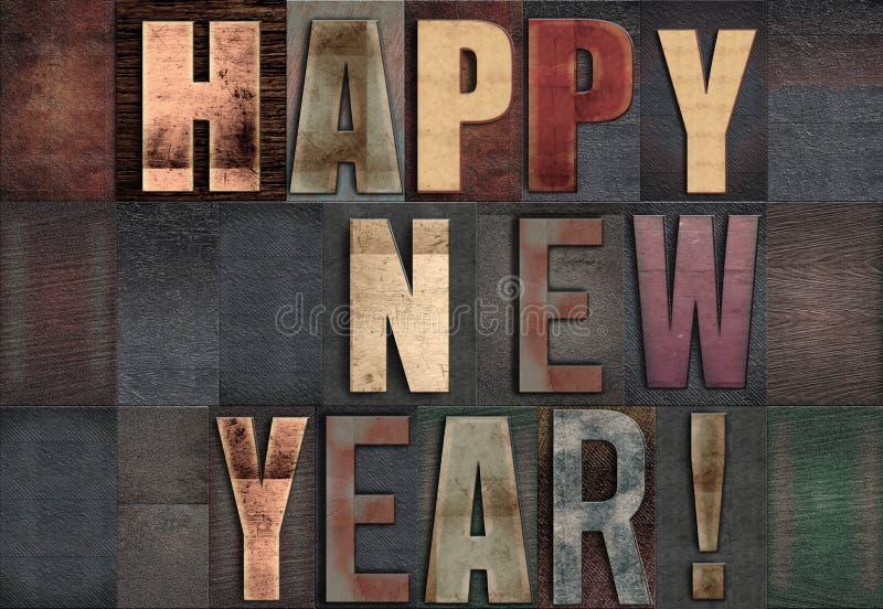 Happy New Year royalty free illustration