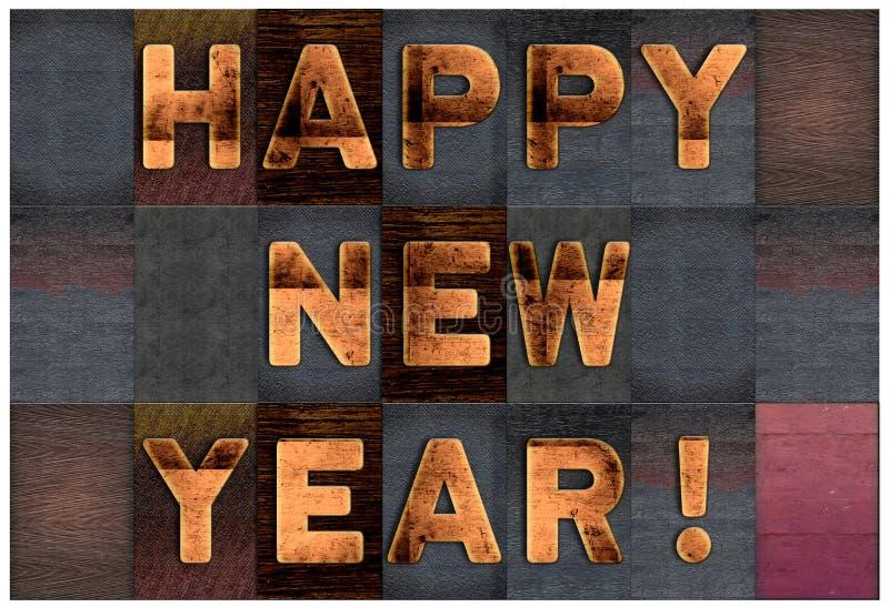 Happy New Year vector illustration